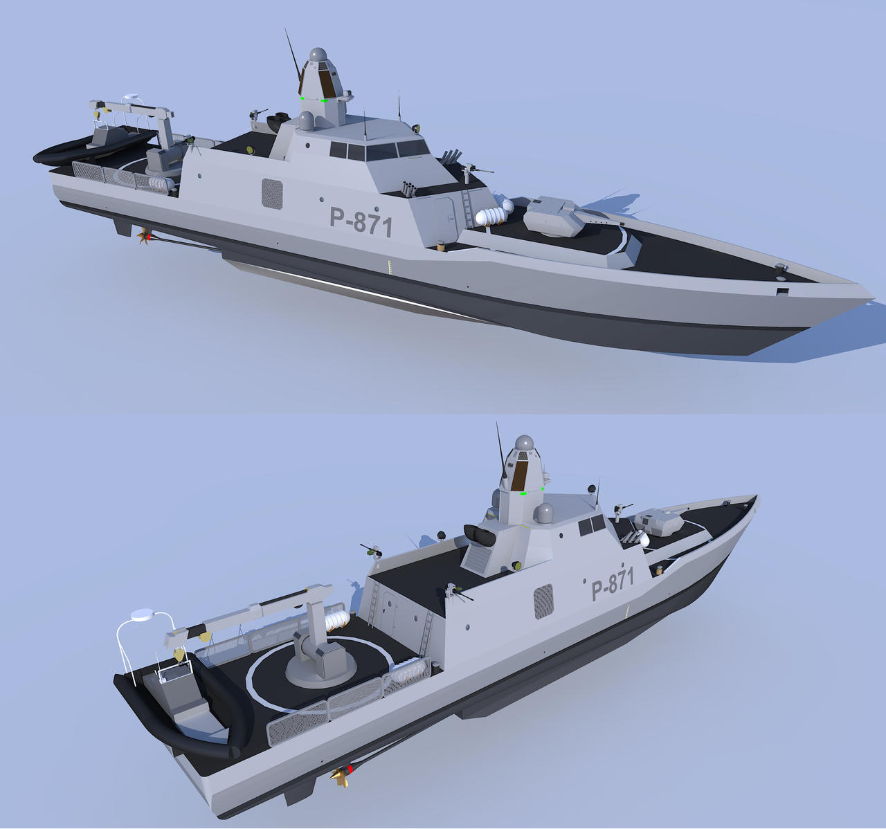 Abel Tasman class multimission cutter 2 by kaasjager