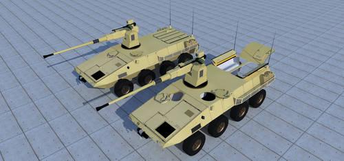 Lynx wheeled IFV-Heavy by kaasjager
