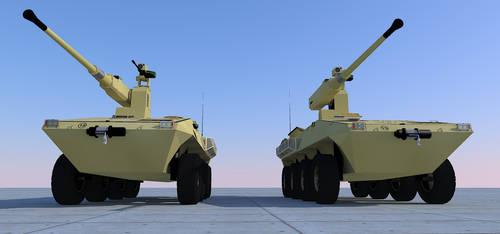 Lynx wheeled IFV-Heavy 2 by kaasjager