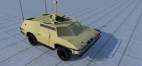 Fox reconnaissance vehicle/light MRAV by kaasjager