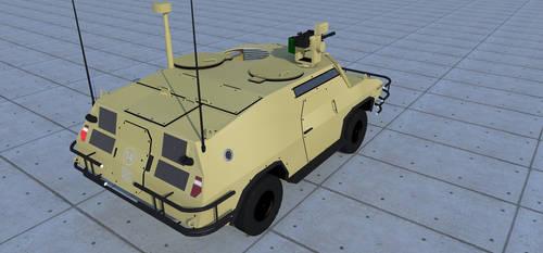 Fox reconnaissance vehicle/light MRAV1 by kaasjager