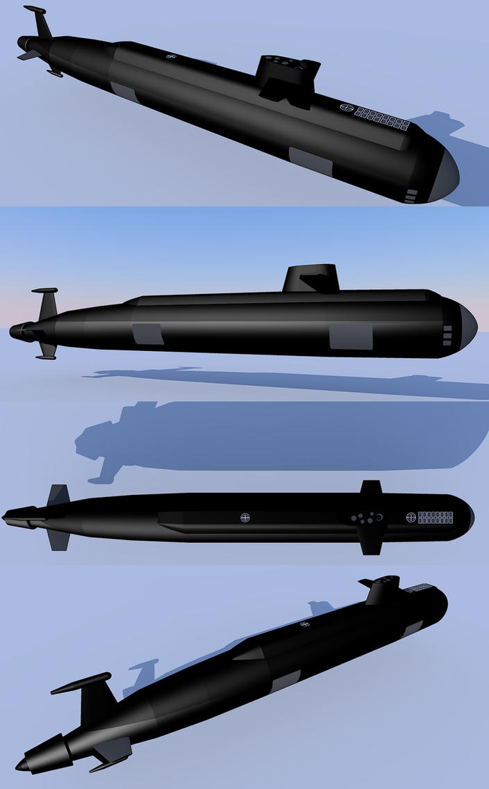 Virisian Arsenal & Armed Forces Tijgerhaai_class_ssn_by_kaasjager-d6z1lc8