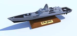 Patrol Frigate table model