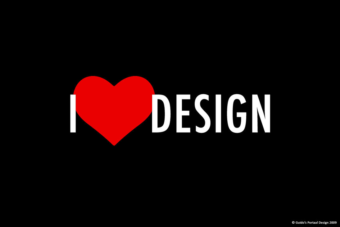i love design wallpaper by guidosportaal on deviantart