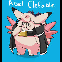 Abel Clefable by Celestialess