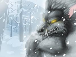 Snowy Worgen