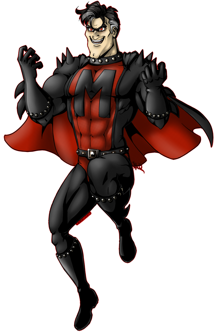 Evil Metro Man by Celestialess on DeviantArt