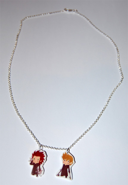 axel and roxas necklace by knil maloon on deviantart