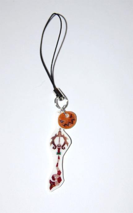 Decisive Pumkin strap charm by knil-maloon