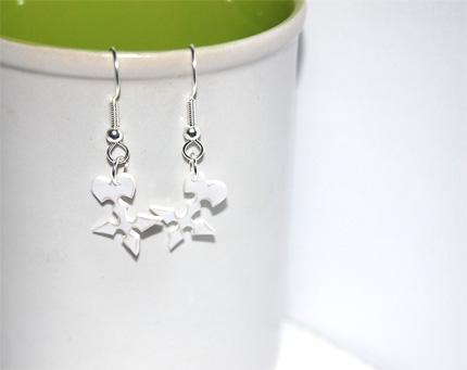 Organization 13 logo earrings by knil-maloon