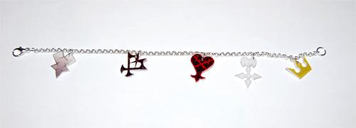 Kingdom Hearts Logo bracelet by knil-maloon
