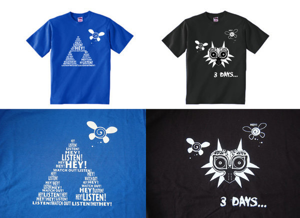 Zelda shirts by knil-maloon
