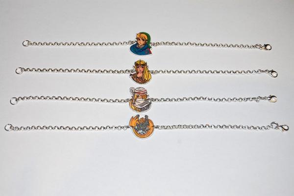 The Legend of Zelda Hyrule Warriors bracelets by knil-maloon