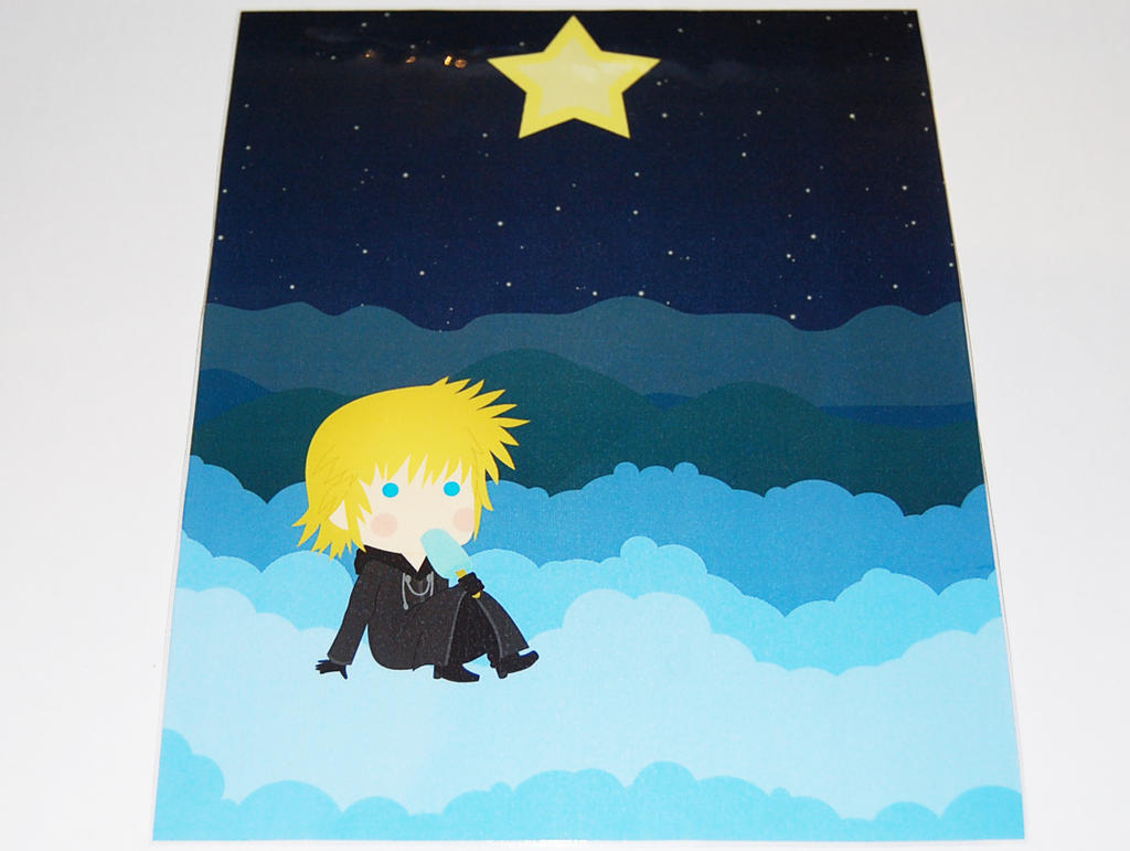 New Prints!!! - Roxas by knil-maloon