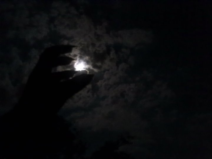 The Moon Is In My Grasp by chloerosewolf