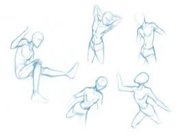 Random poses 6