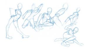 Random poses 10