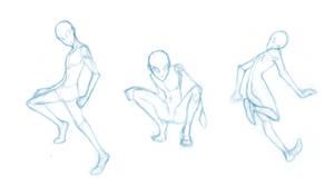 Random poses 11