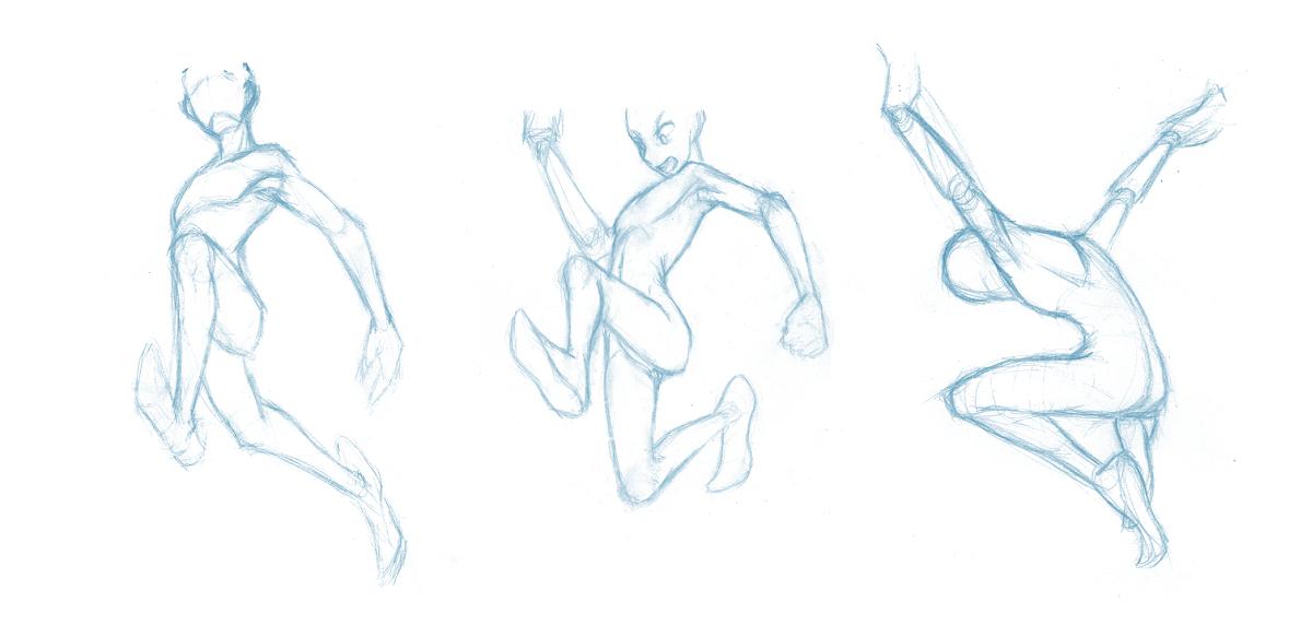 Random poses 13 by BBstudies