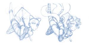Disposal Sketch 12 - 'Kitsu'