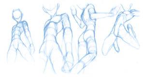 Random poses 14