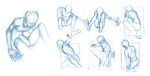 Random poses 19