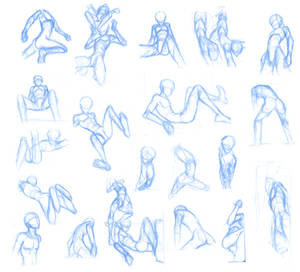 Random poses 23 (massive sheet)