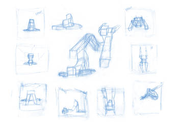 Pose Studies 19 by Brant-Bi