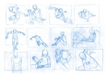 Pose Studies 20 by Brant-Bi