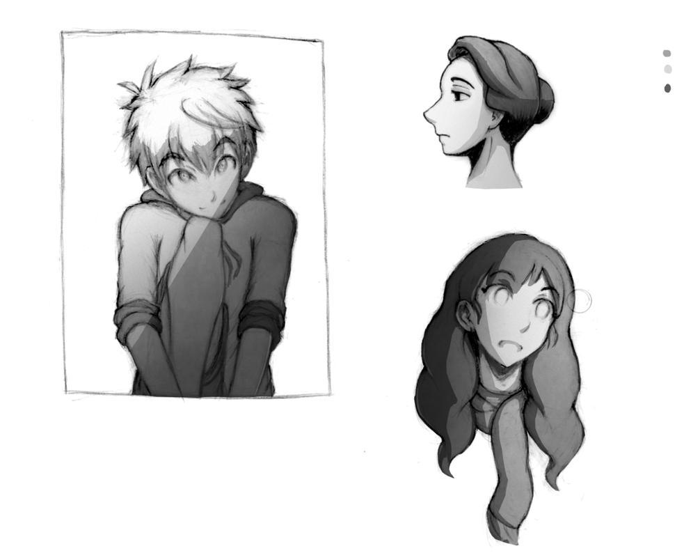 Random characters 07 by BBstudies