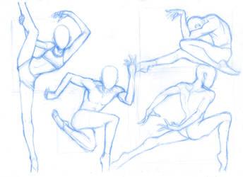 Pose Studies 29 (ballerins 3) by Brant-Bi