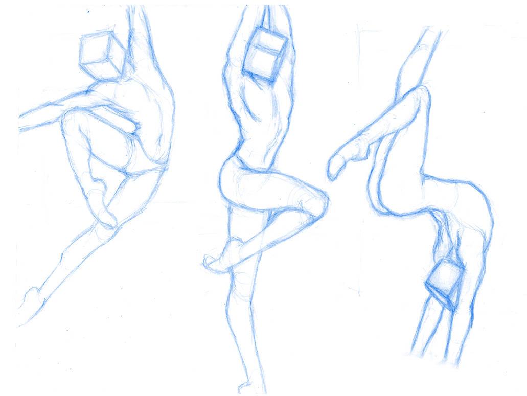 Pose Studies 31 (ballerins 5) by Brant-Bi