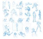 Random Poses 37 (massive sheet)
