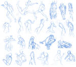 Random Poses 39 (massive sheet)