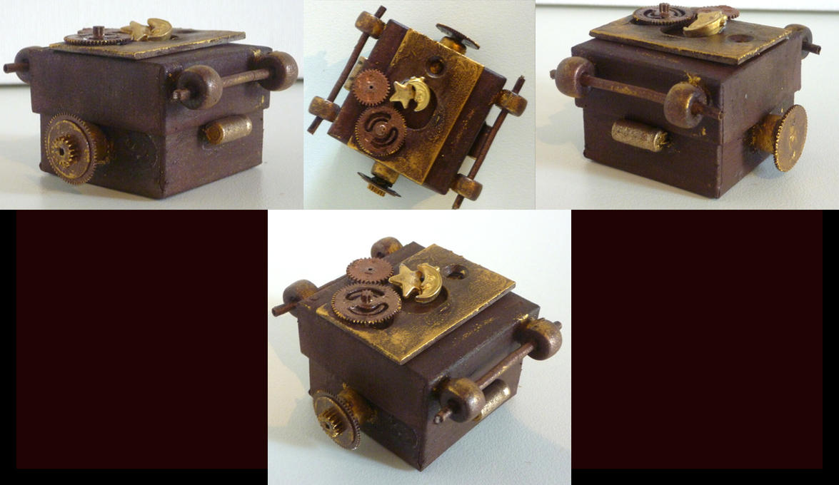 Steampunk Jewelry box by WhisperedSecret on DeviantArt