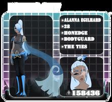 PC | Alanna by PinkVampire