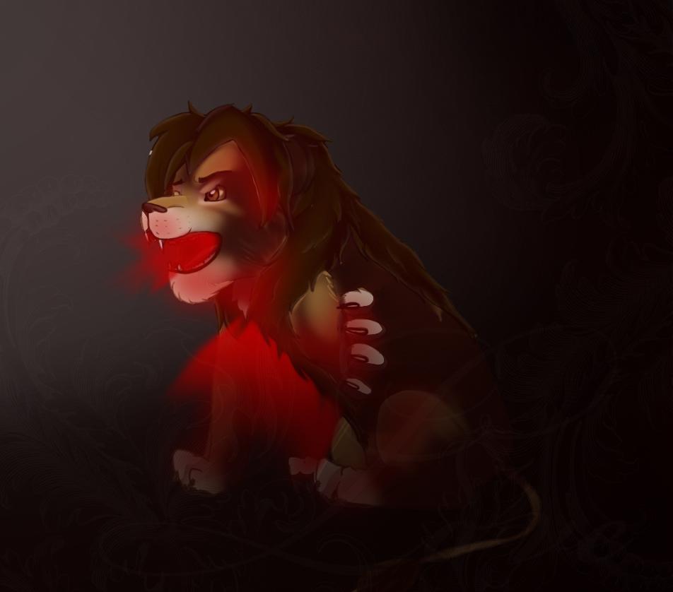 heartburn for lionxdagger (art trade) by Bekkiamber17