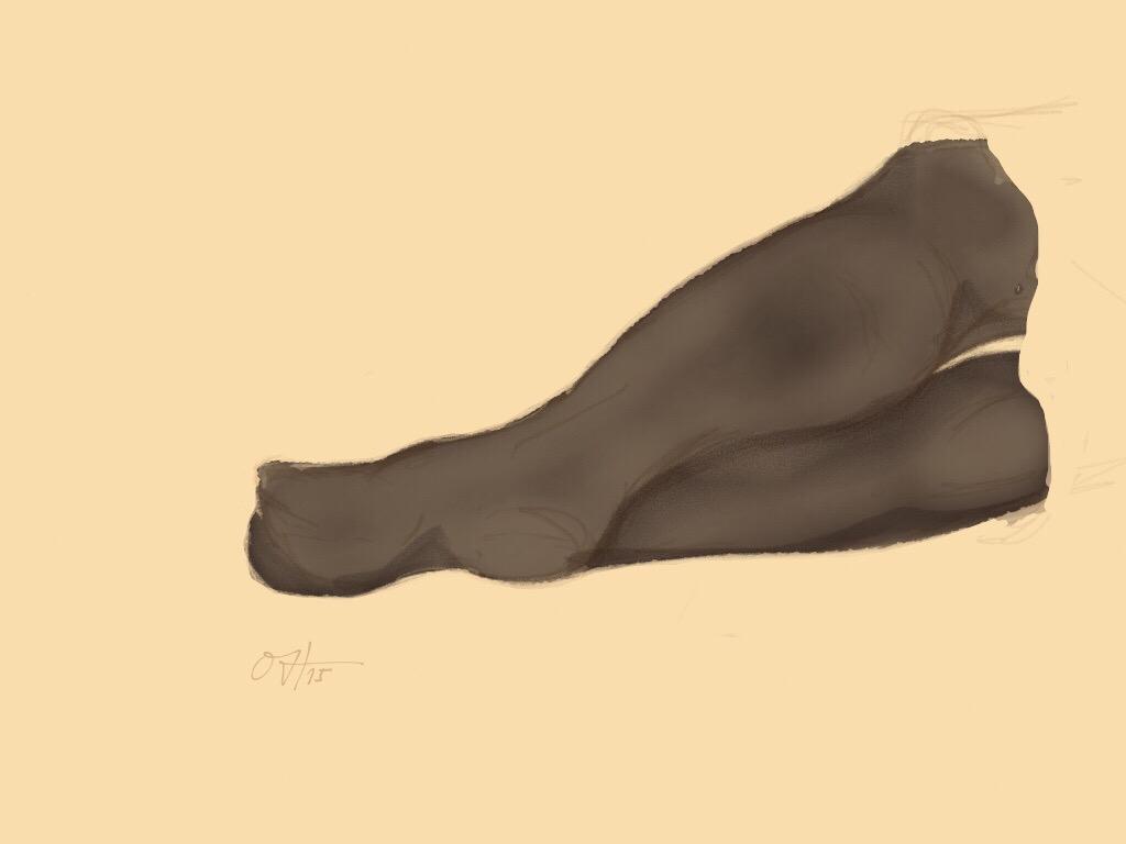 Leg study 02 by HOliArt