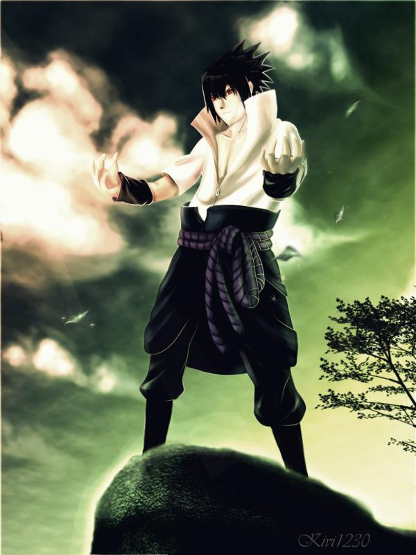 Sasuke ::My name, my pride by kivi1230