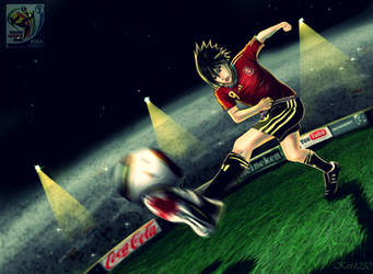 Sasuke :: World cup 2010 by kivi1230