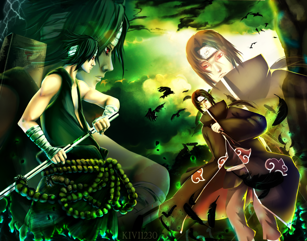CM: Sasuke Vs Itachi By Kivi1230 On DeviantArt