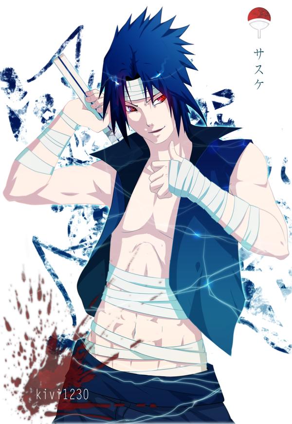 Sasuke by kivi1230