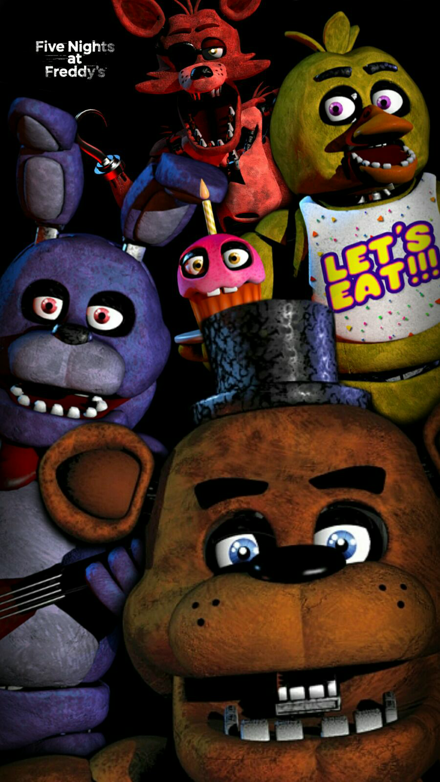 Five Nights At Freddys Wallpaper By Garebearart1 On Deviantart