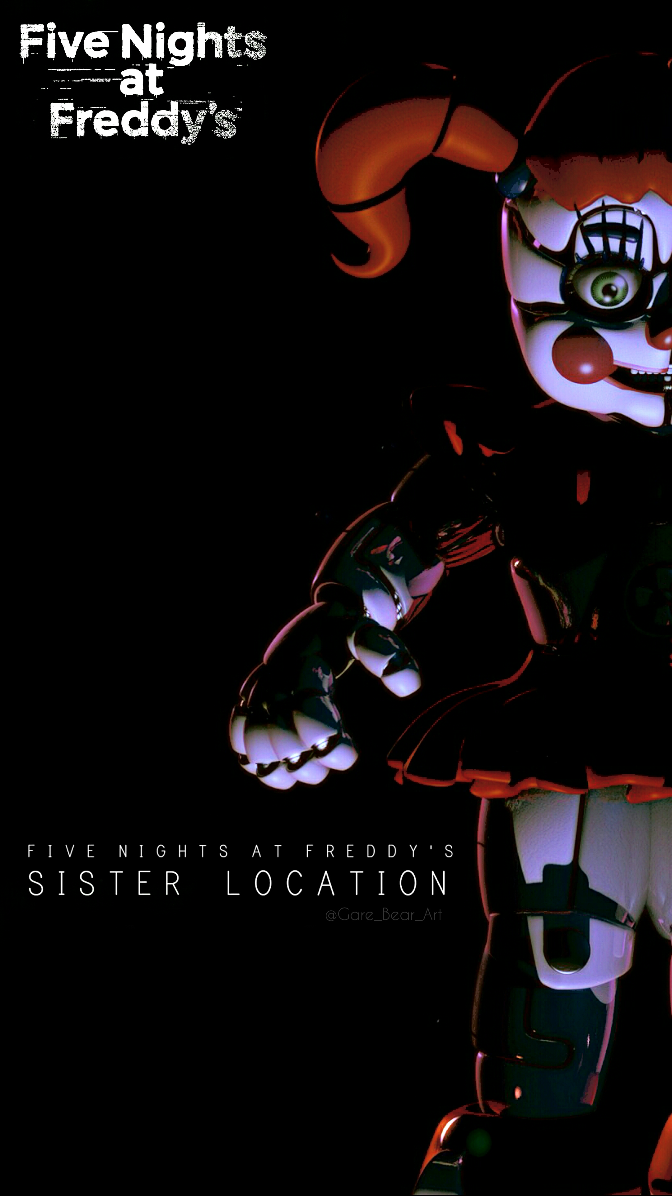 Fnaf Sister Location Wallpaper Baby By Garebearart1 On Deviantart