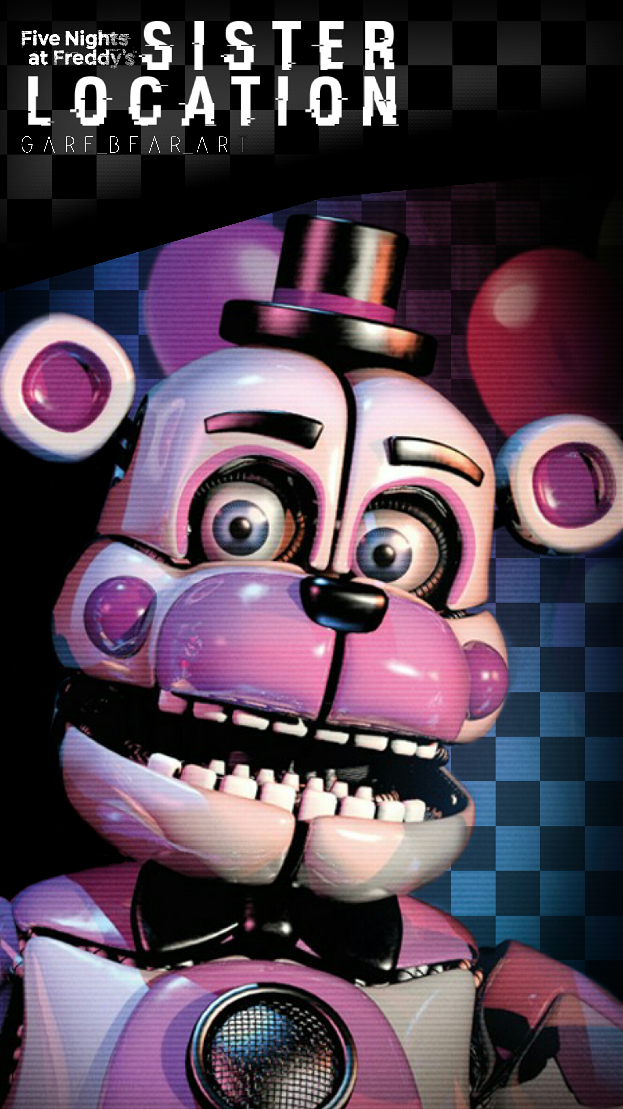 Fnaf Sister Location Wallpaper Funtime Freddy By Garebearart1 On
