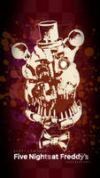 Molten Freddy wallpaper by GareBearArt1