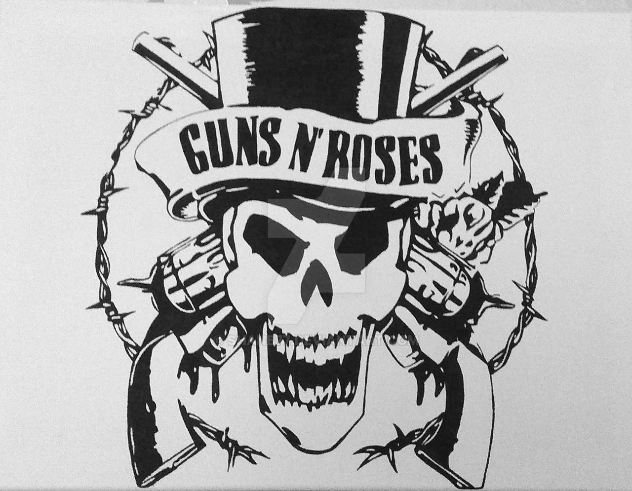 Guns n Roses logo by Shanb77 on DeviantArt