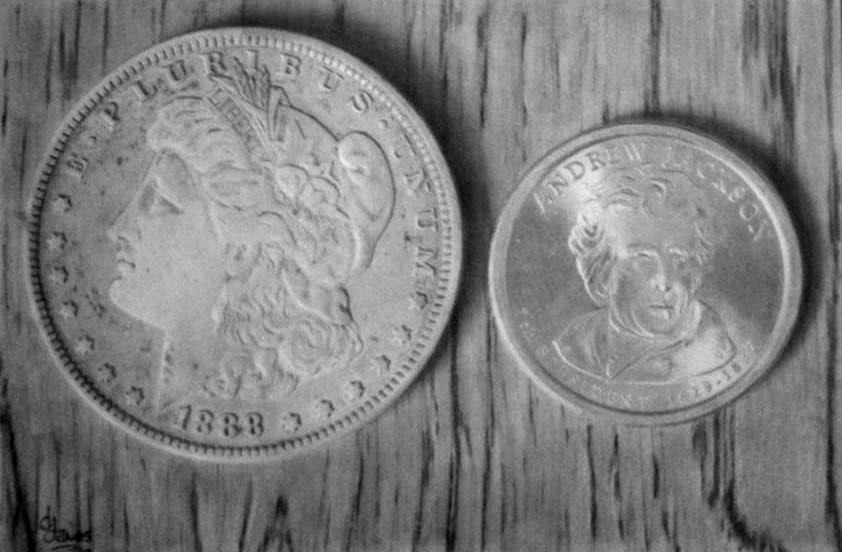 Silver Coins by ddanos