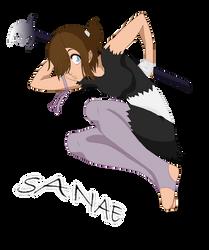 Sanae The Black Mage