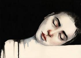 sleeping by oksanadimitrenko